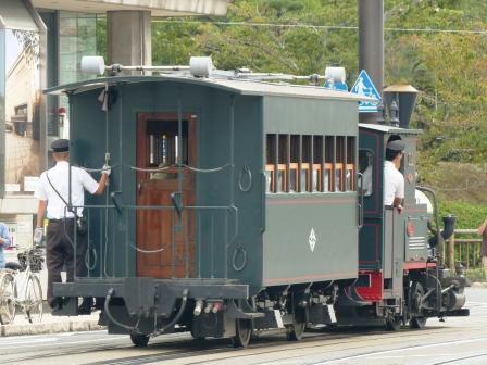 伊予鉄道・坊っちゃん列車 3