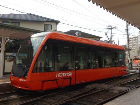 伊予鉄道・市内電車 5000形 7