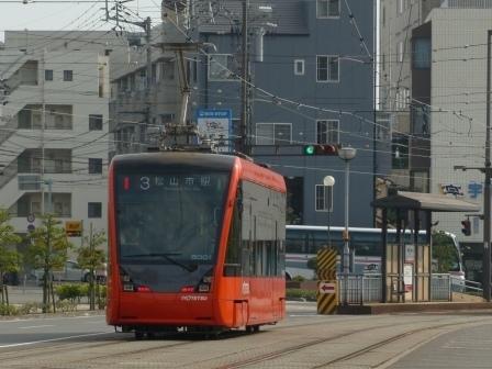 伊予鉄道・市内電車 5000形 9