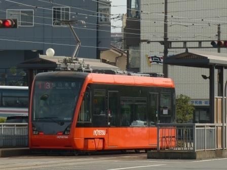 伊予鉄道・市内電車 5000形 10