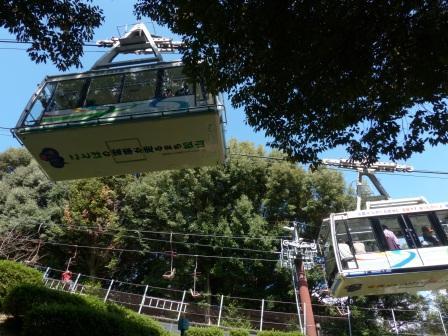 松山城 ロープウェイ 2