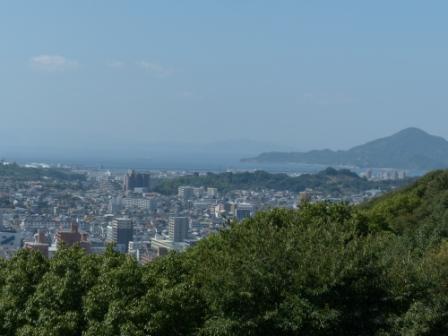 本丸広場からの眺め 1