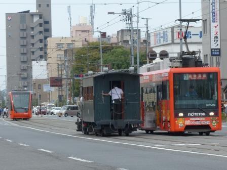 伊予鉄道・市内電車 2100形・5000形・坊っちゃん列車