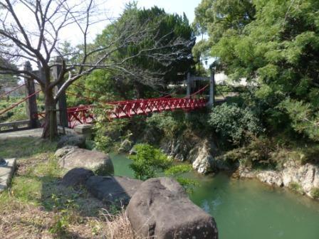 岩堰橋 (赤橋)