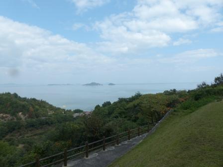 休暇村 瀬戸内東予 付近からの眺め 2