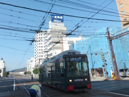 伊予鉄道・高浜線 大手町駅 4