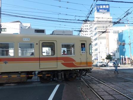 伊予鉄道・高浜線 大手町駅 5