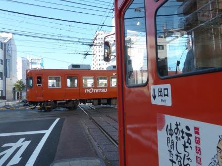 伊予鉄道・高浜線 大手町駅 6