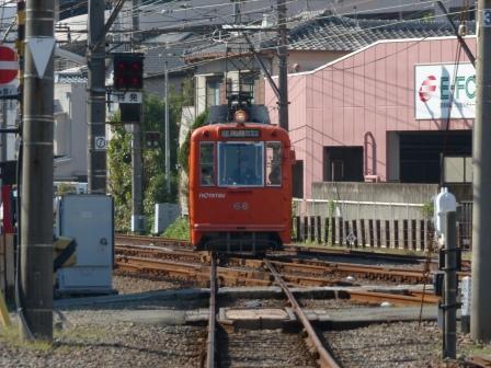 伊予鉄道・高浜線 古町駅 5
