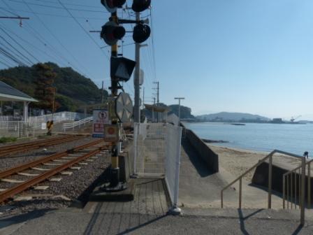 伊予鉄道・高浜線 梅津寺駅 3