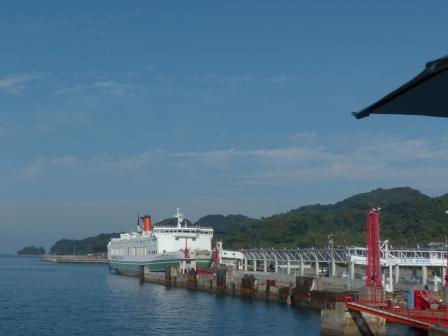 松山観光港 フェリー くるしま