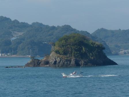松山観光港 からの眺め 2