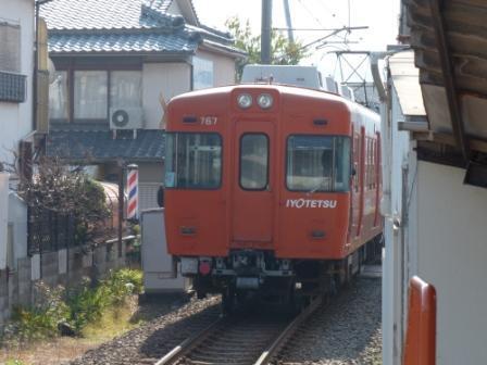 伊予鉄道・郡中線 新川駅 4