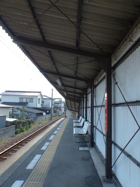 伊予鉄道・郡中線 新川駅 3