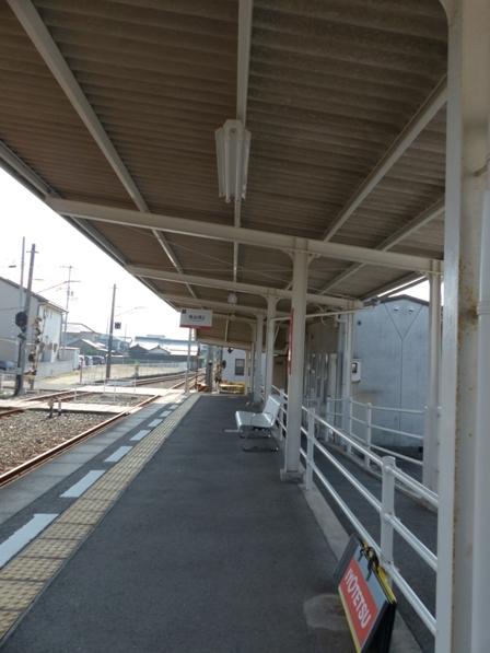 伊予鉄道・郡中線 地蔵町駅 4