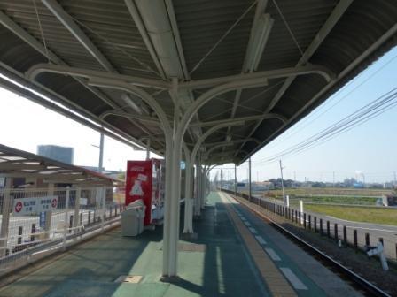 伊予鉄道・郡中線 古泉駅 3