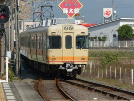 伊予鉄道・郡中線 岡田駅 7