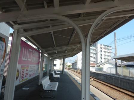 伊予鉄道・郡中線 余戸駅 3