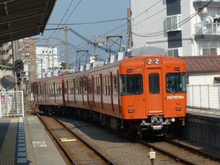 伊予鉄道・郡中線 余戸駅 7