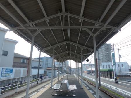 伊予鉄道・郡中線 土居田駅 3