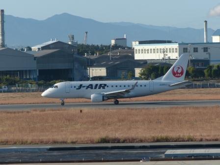 松山空港で 2
