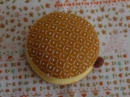フェルト・ドーナツ ライトクリーム チョコ 1