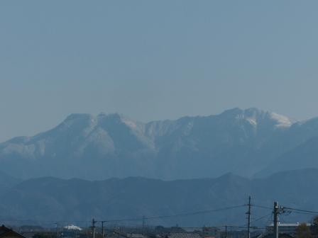 石鎚山 遠望 2