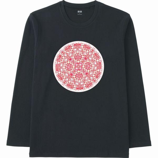 embroidery_hsvカラー調整エンベロープjtrim赤フォトショップTシャツ黒