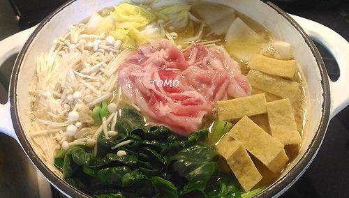 ピリ辛豆板醤鍋