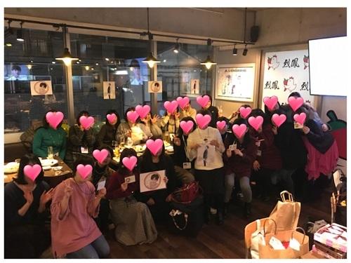 大阪夜オフ会集合写真