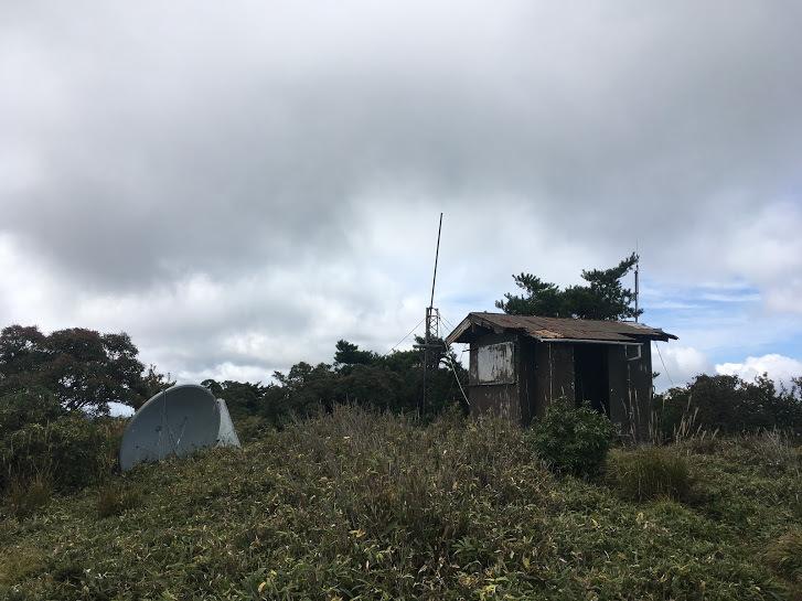 2017千町ヶ峰/無線小屋