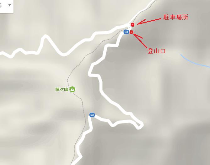 2017陣ヶ峰/地図