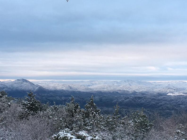 2017ポンポン山/雪景色