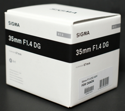 SIGMA 35mm F1.4 DG HSM 01
