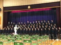 赤坂中学校創立70周年記念式典
