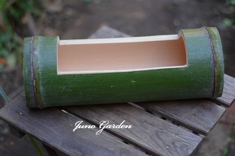 竹の花器171201