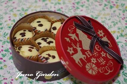 レーズンカップケーキ171221