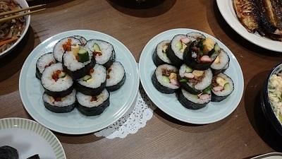 韓国風海苔巻き1