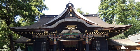 香取神宮 社殿 拝殿