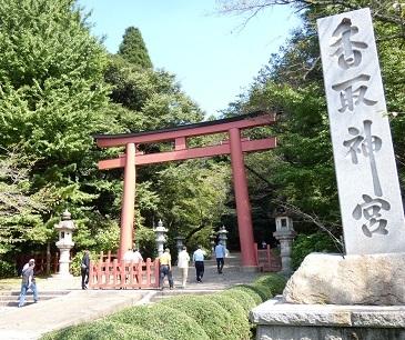 香取神宮 鳥居.