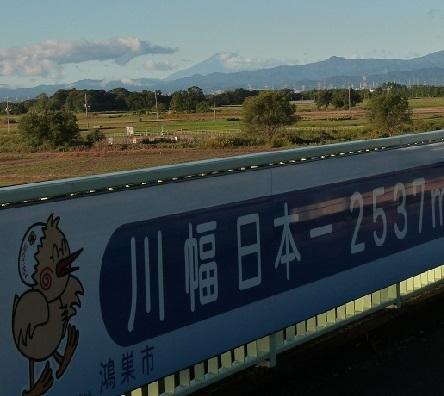 1-3川幅日本一 富士山