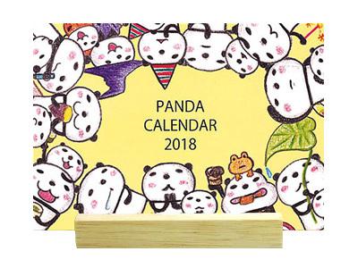 ブログ卓上カレンダー2018