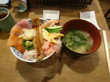 SFPホールディングス 磯丸水産 海鮮こぼれ丼02 0710 201702