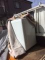 12年5キロ洗濯機、大島2点他帯、着物 k