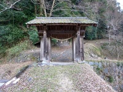 森陣屋_丸木御門