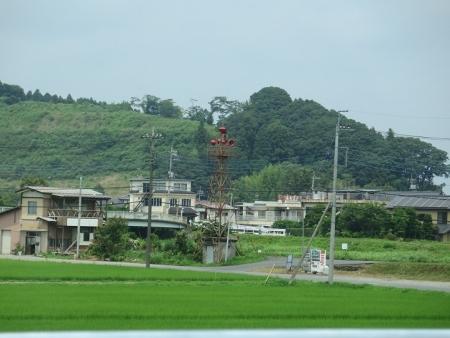 栃木 喜連川温泉付近 火の見櫓