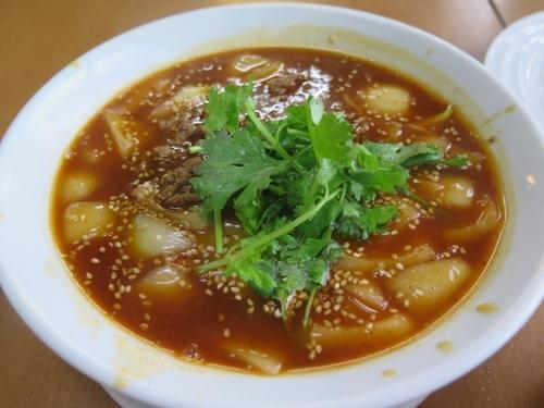赤坦々麺(麻辣坦々麺)