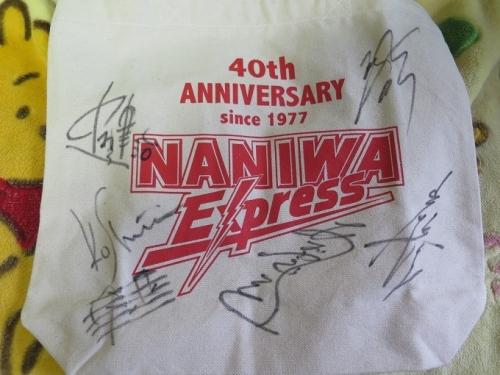 ナニワさんのサイン入りトート