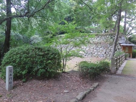 豊橋公園 冠木門跡