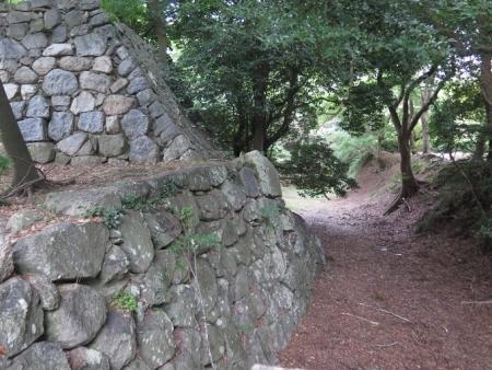 豊橋公園 吉田城石垣